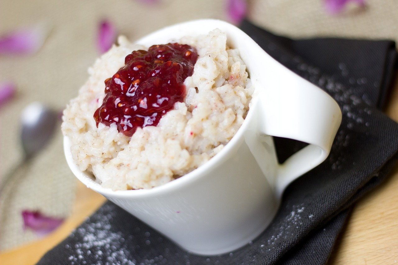 rice pudding, rice, sweet