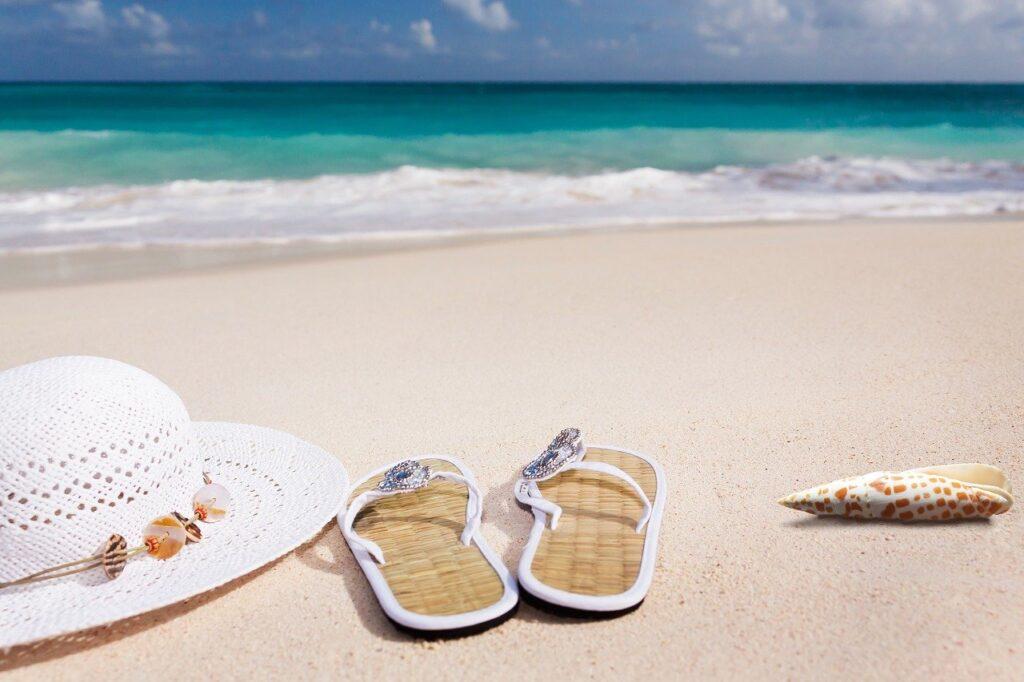 beach, sand, sea